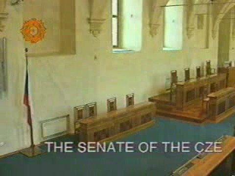 The Senate of the Czech Republic in Prague