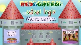 Red&Green sweet logic Level1-25 Walkthrough