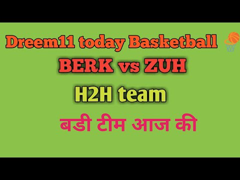 BERK Vs ZUH Basketball Today Match By Sk Technical👇
