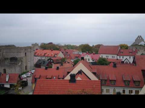 [Visby] Overlook from hill | Oct 20, 2016