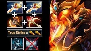 New Carry to Counter PA! Divine Rapier Ember Mid Epic True Strike Talent Craziest Game WTF Dota 2