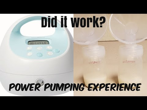 POWER PUMPING EXPERIMENT | DID POWER PUMPING BOOST MY MILK SUPPLY?