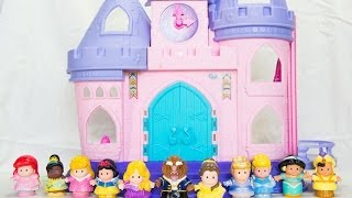 Fisher-Price Little People Disney Princess Songs Palace Play Set - Kinder Playtime