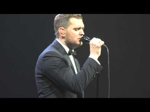 Michael Buble - Try A Little Tenderness -To Be Loved World Tour Sydney 17/05/14