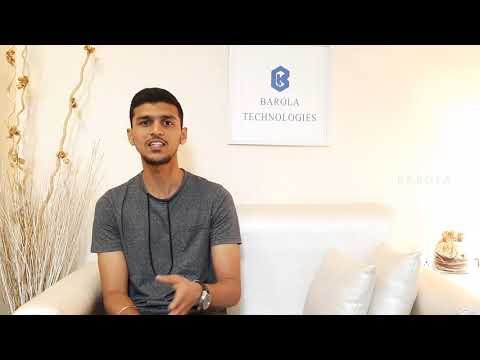 Internship Feedback Barola Technologies | Internship in Chennai