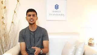 Internship Feedback Barola Technologies | Internship in Chennai