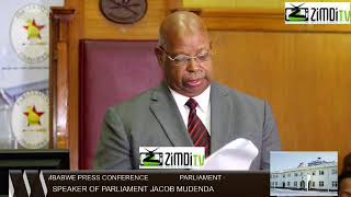 ED MNANGAGWA NOW PRES LIVE PRESS CONFERENCE