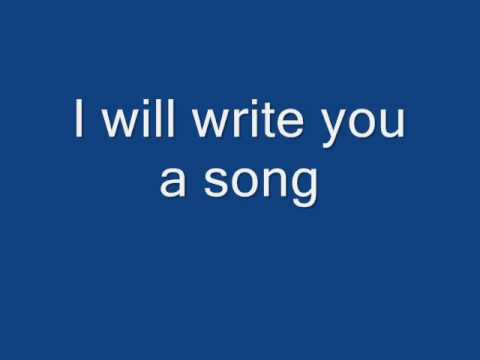Plain White T's-Write you a song-with lyrics