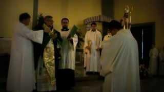 Lettorato e Accolitato di Luigi Mastrodomenico e Celebrazione di San Timoteo