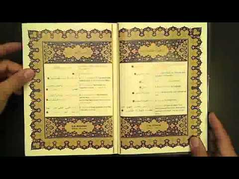 Arabic Book Review – The Holy Quran (Color Coded Translation with Arabic Text)