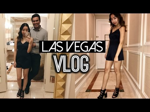 LAS VEGAS VLOG 2017 - SEEING THE CHAINSMOKERS!   Emily Dao