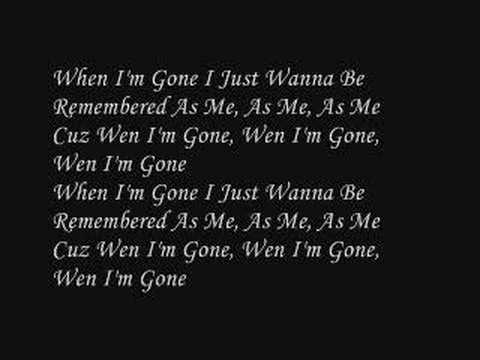 Chuckie Akenz - When I'm Gone (with lyric)