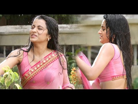 Trisha Latest N Wet Saree Ever Seen Movieblends