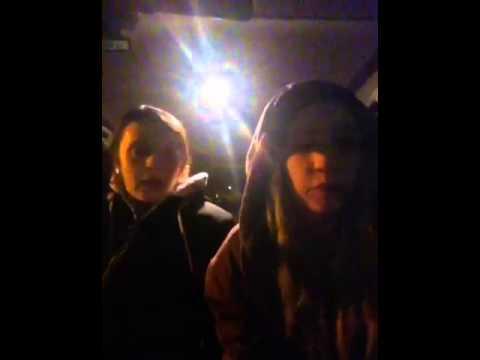 Car park karaoke.