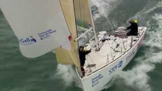 Entrainement et réflexion au Pôle Finistère Course au Large à Port la Forêt