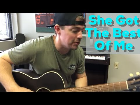 She Got The Best of Me | Luke Combs | 1-Minute Guitar Lesson