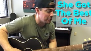 She Got The Best of Me | Luke Combs | 1-Minute Guitar Lesson Video