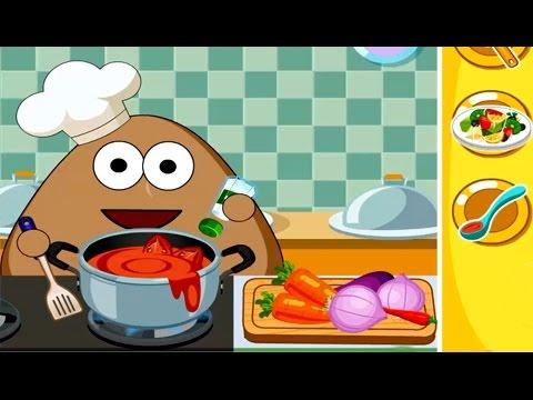 Dibujos animados para ni os pou una aventura en la cocina youtube - Dibujos de cocina ...