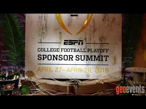 ESPN SPONSOR SUMMIT 2015 ft Production & Decor by Geo Events