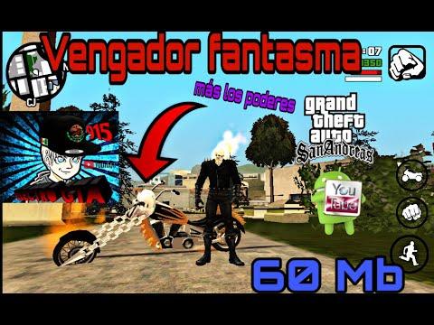 Mod Del Vengador Fantasma||GTA SA Android