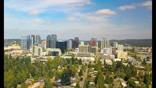 A Lunch Break in Bellevue, WA - DJI Mavic Pro Drone