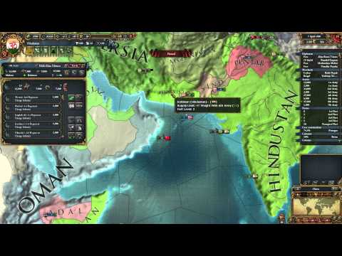 Europa Universalis IV - Hindustan - part 24 - All the claims.