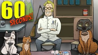 MAD SCIENTIST ENDING MORE CATS IN THE BUNKER 60 Seconds DLC New Endings