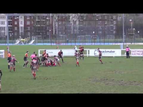 Charles Samson GHA vs Hillhead Jordanhill 4th Jan 2014