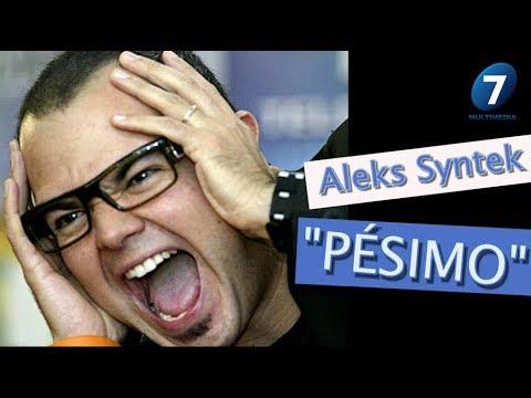 Aleks Syntek PÉSIMO COMPORTAMIENTO en redes sociales! / ¡Suéltalo Aquí! Con Angélica Palacios