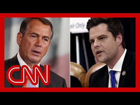 Stelter: Matt Gaetz is proving Boehner's warning about GOP right