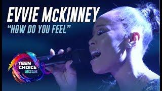 'The Four' Winner Evvie McKinney Performance At Teen Choice Awards 2018