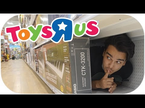 Hide And Seek Inside Toys R Us! (ALMOST KICKED OUT)