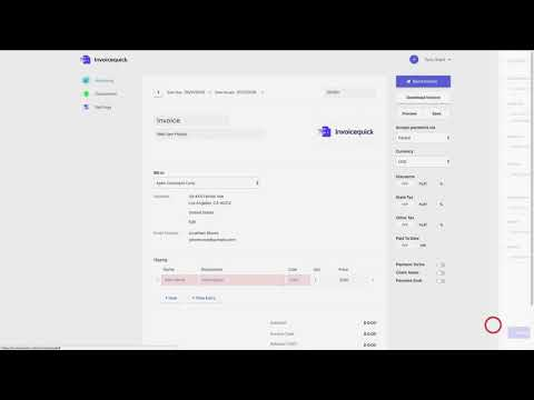 Invoice Quick   Chrome Web Store Invoice Quick  Generate unlimited FREE professional invoices in record time  without registration