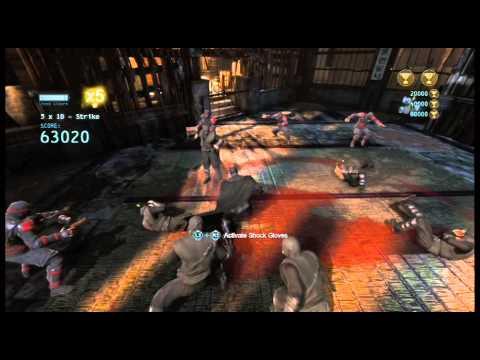 Batman Arkham Origins: Dark Knight Skin Gameplay - YouTube