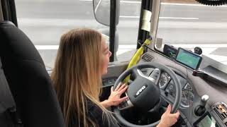 Jazda ciężarówką. DAF CF. Karolina GUGA trucks