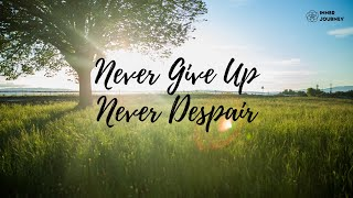 【Never Give Up Never Despair】W4 善待自己 好習慣