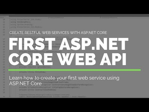 Create Your First RESTful Web Service Using ASP.NET Core - Tutorial 1