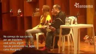 Repeat youtube video Yuu Kamiya responde: Por ser brasileiro, você sofreu preconceito no Japão como Mangaká?