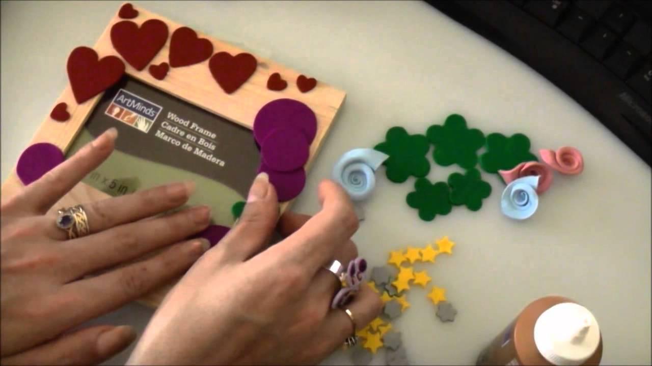 Polymer Clay Wood Frame Tutorial - YouTube