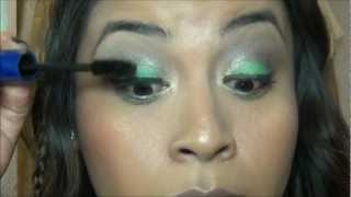 Summer Green Makeup Look Thumbnail