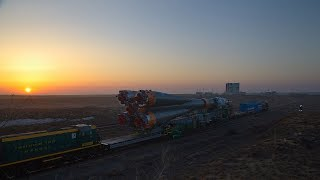 Soyuz MS-08 ready for launch