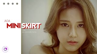 How should AOA (에이오에이) sing MINISKIRT( Line Re-Distribution …