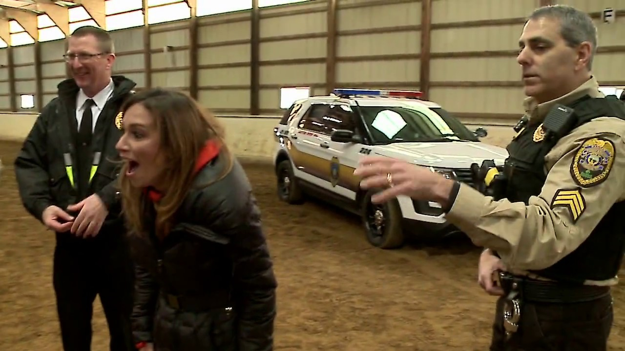 Natalie Herbick and New Day Cleveland went behind the scenes with  Metroparks K 9 Unit