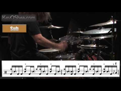 Dave Elitch Drum Fill Transcription