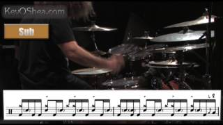 Dave Elitch Drum Fill Transcription