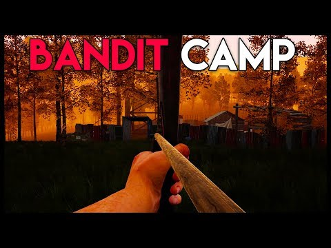 STEALTHILY Taking out the LARGEST Bandit Camp! (Mist Survival Gameplay Part 16)
