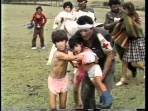 ERUPCIÓN VOLCÁNICA EN COLOMBIA-VOLCAN NEVADO DEL RUIZ 1985
