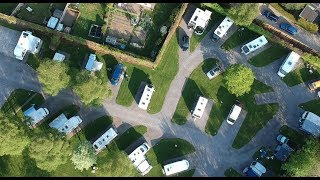 Long Hazel Park - Sparkford - Campsite Aerial View