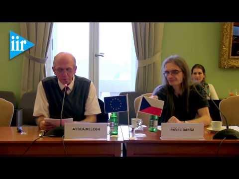 Keynote speech by Attila Melegh on the East/West slope