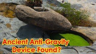 Mysterious Anti-Gravity Rock - Cigar Shaped Alien UFO Found?